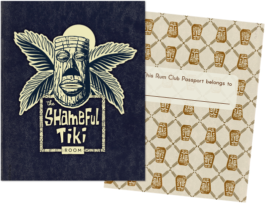 The Shameful Tiki Room Rum Club Passport